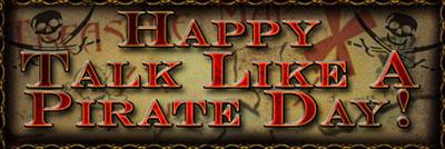 International Talk-Like-a-Pirate Day 2014