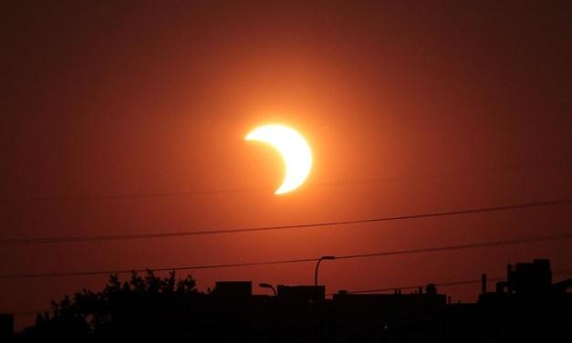 Watch Partial Solar Eclipse 2014