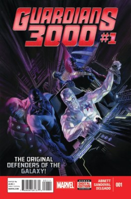Dan Abnett: Writer Gerardo Sandoval: Artist Edgar Delgado: Colorist Cover Art by Alex Ross MARVEL