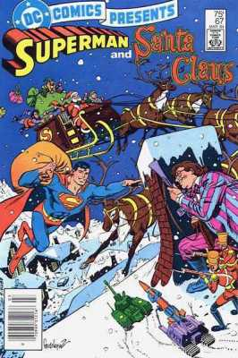 SUPERMAN AND SANTA CLAUS