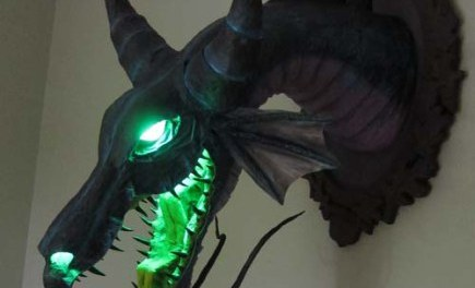 Video of the Day: Dan Reeder's Paper Mache Dragon