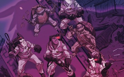 Four-Color Bullet: 'Teenage Mutant Ninja Turtles/Ghostbusters' #4