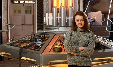 Maisie Williams Takes Sidetrip from Thrones to TARDIS