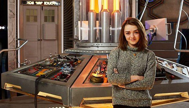 Maisie Williams Takes Sidetrip from Thrones to TARDIS