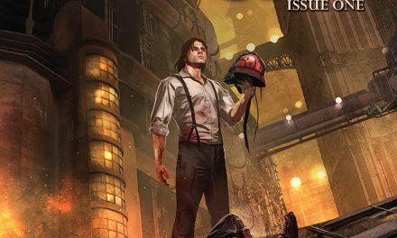 Four-Color Bullet: 'Lantern City' #1