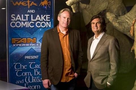 Dan Farr and Bryan Brandenburg, co-founders of Salt Lake Comic Con.
