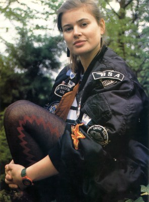 """Sophie Aldred as """"Ace"""""""