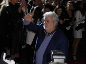 George Lucas readies to see the first Star Wars movie he didn't make.