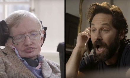 Video of the Day: Paul Rudd & Stephen Hawking Faceoff in Quantum Chess