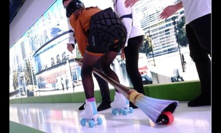 Toyota Demos Electric Riding Broom
