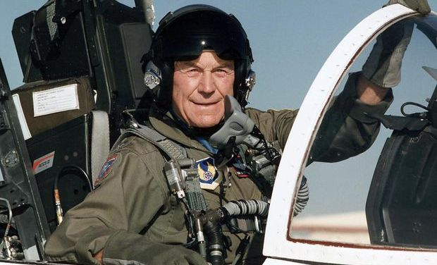 Chuck Yeager, The Man With The Right Stuff, Passes At 97