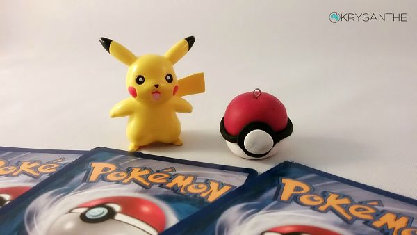 How to Make polymer clay Pokeballs with Fimo