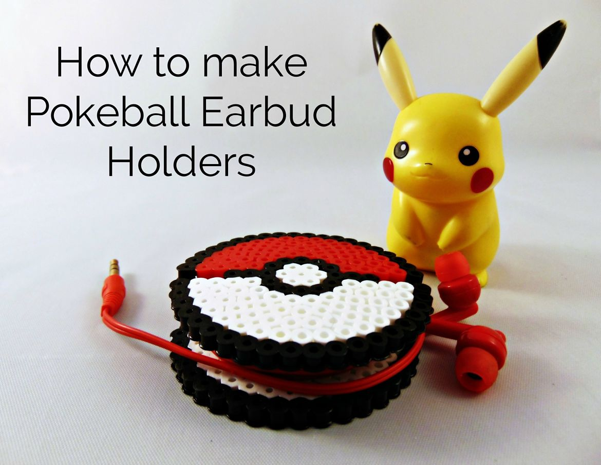 How to make a Perler Bead Pokemon Earbud Holder