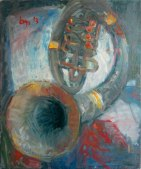 Old Tuba (II). Oil on canvas. 2013