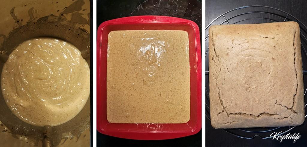 Préparation du gâteau au beurre de cacaouhètes