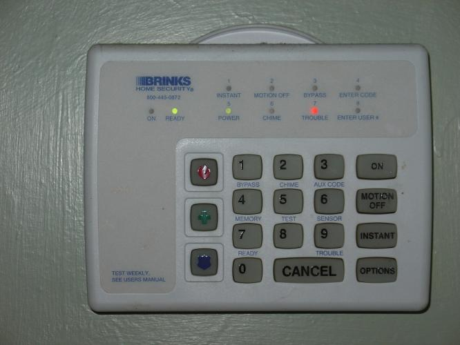 Brinks Home Security 5074 Manual