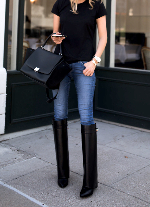 Givenchy Boots Fold Over Pant Leg Shark Tooth From Nordstrom