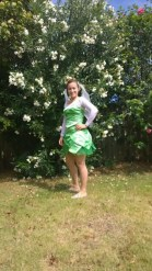 Fairy in green dress