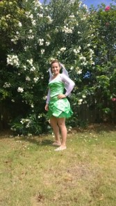 Fairy in green dress