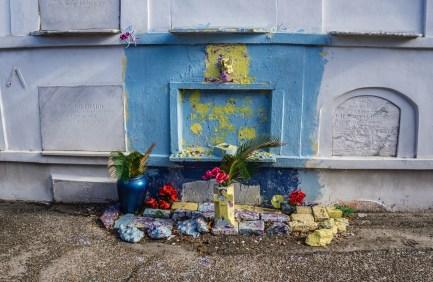 colorful grave