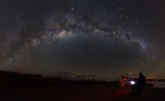 People & Space Runner Up - Eternity and Astrophotographer by Yuri Zvezdny (Russia) - 14 April 2015 - San Pedro de Atacama, El Loa Province, Chile