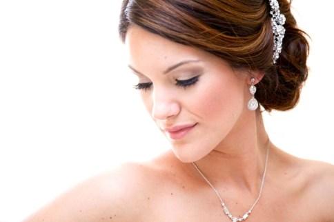 Bridal hair and airbrush makeup - Houston, TX - Krystle Sierras Makeup artist + Hair stylist