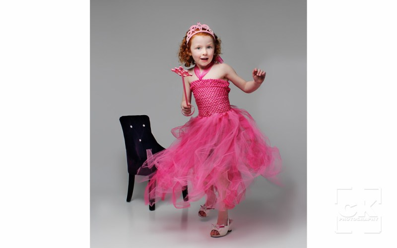 Chris Kryzanek Photography children - girl in princess dress
