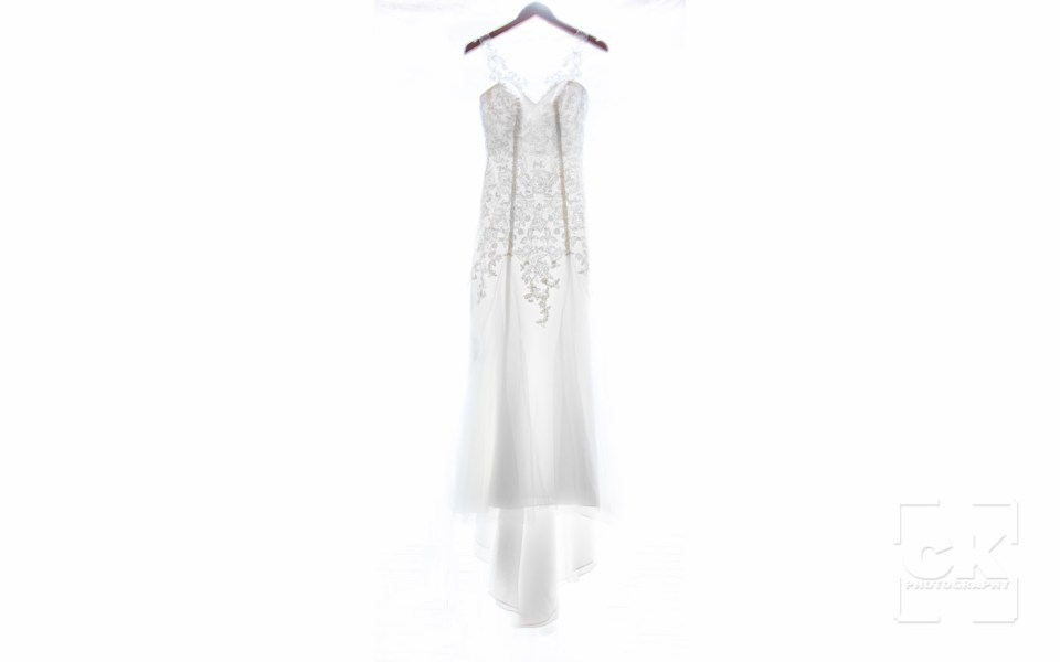 Chris Kryzanek Photography - Wedding dress on white