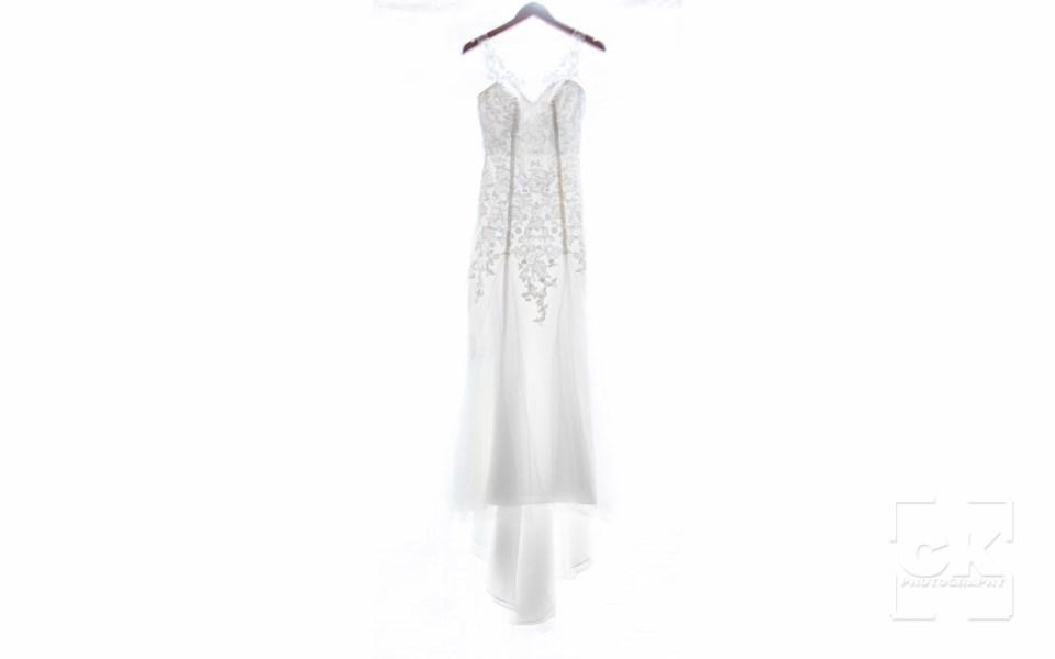Chris Kryzanek Photography - Wedding dress on white