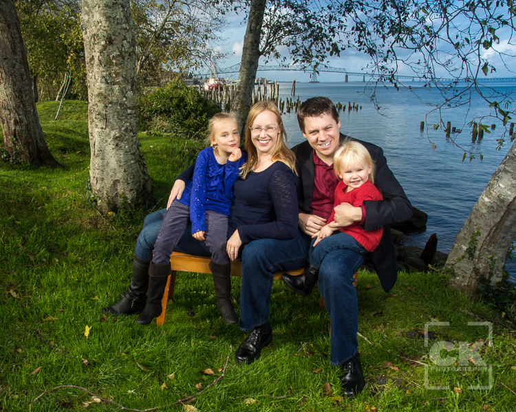 Chris Kryzanek Photography - Astoria Family Session Riverwalk Train Station