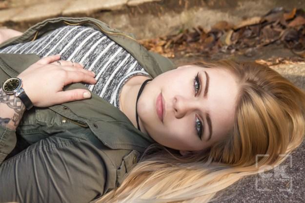 Chris Kryzanek Photography Astoria Senior portraits Shively Park girl
