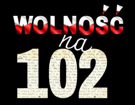 """Konkurs literacki """"Wolność na 102"""""""