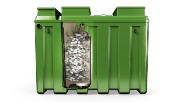 Sewage Treatment Plant Rotor BioZone Chamber