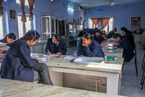 11. Klasse der Academy, Biologieunterricht