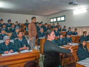 Fernlehrraum an der Kirpal Sagar Academy