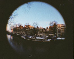 Amsterdam - Canals, swans and boats