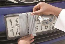 Saudi Arabia Fine for Un Clear Number Plates