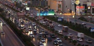 Jeddah Traffic Rush