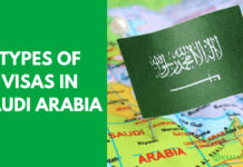TYPES OF VISAS IN SAUDI ARABIA