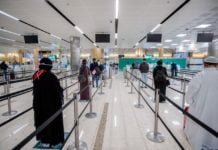 Institutional quarantine for all visitors arriving in Saudi Arabia from non-banned countries