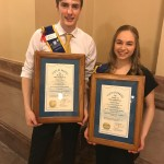 Students with recognition from Kansas. Theatre in our schools, 2020.