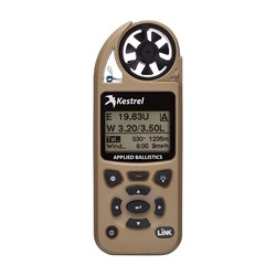 Kestrel 5700 Weather Meter w/ Ballistics Link Tan