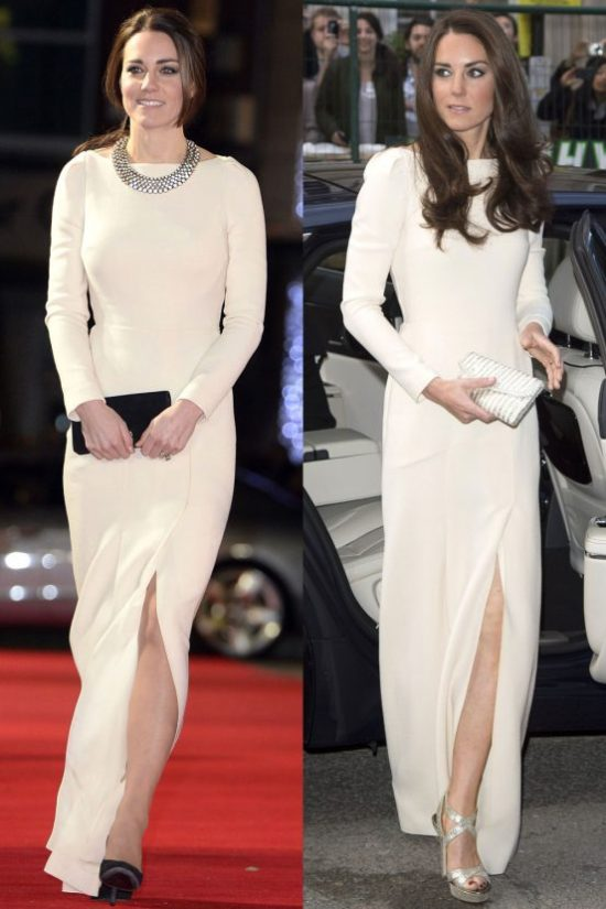 Kate Middleton wears Roland Mouret to the 'Mandela: Long Walk To Freedom' premiere