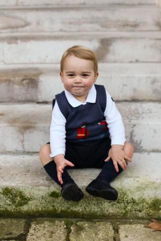 Prince George at Kensington Palace