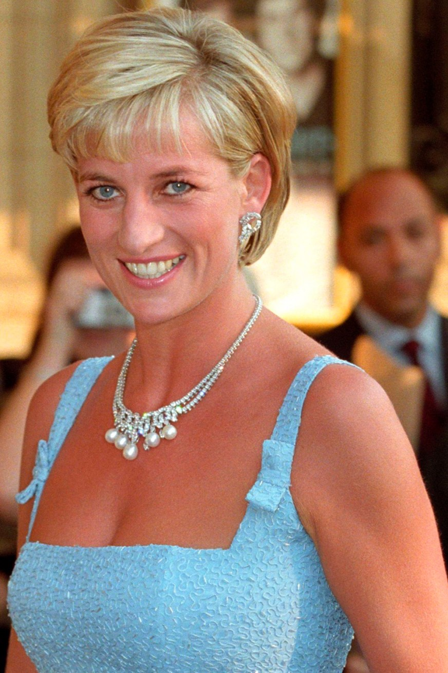 Princess Diana's iconic diamond and pearl necklace is up ...