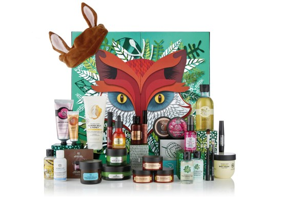 beauty advent calendar Body Shop