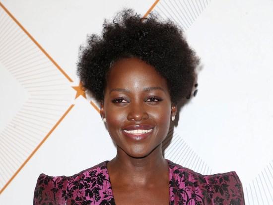 curly hair types 4C Lupita Nyongo