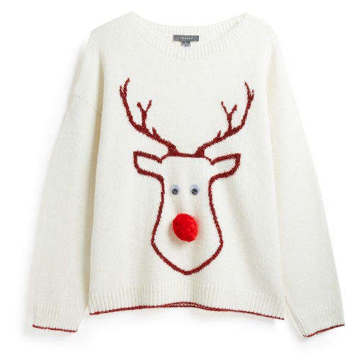 primark reindeer jumper