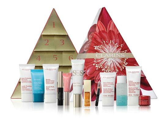 beauty advent calendars 2018 Clarins