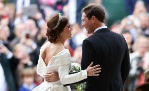 meaning behind princess eugenies wedding dress
